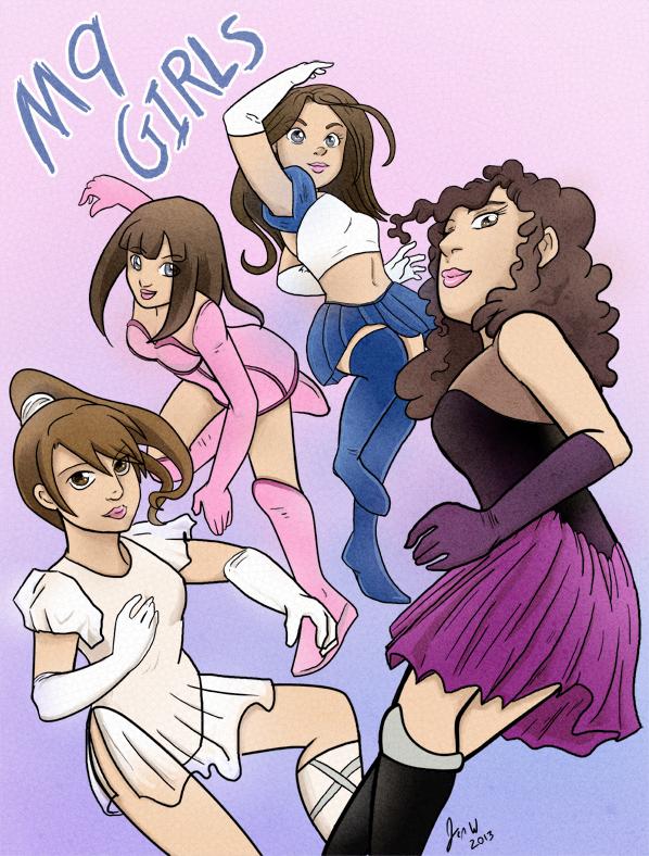 M9 Girls by Jen