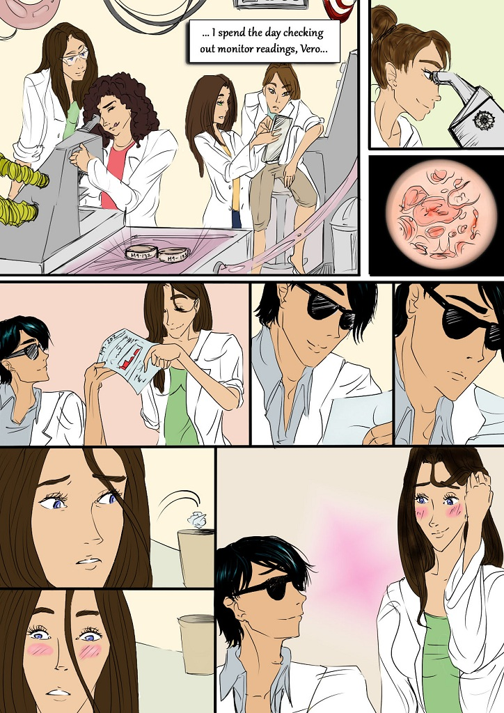 The girls enjoy doing science for now...