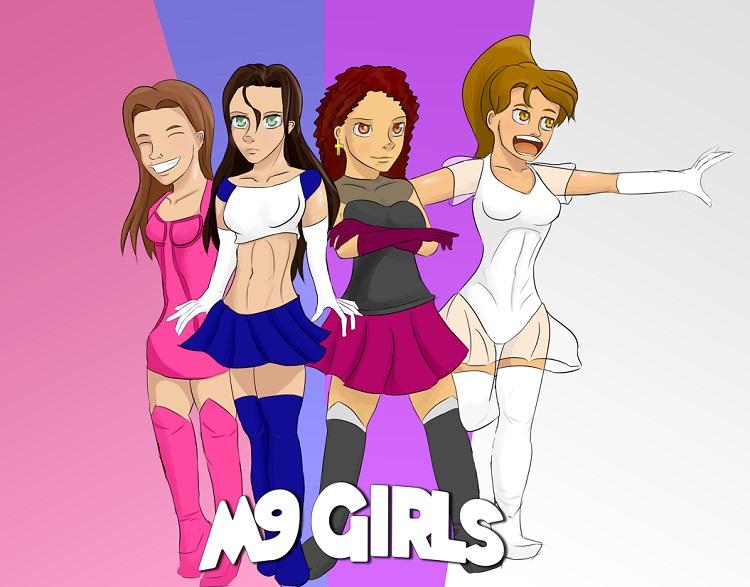 ¡Que chicas tan coloridas!